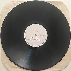 jimi hendrix bootlegs vinyl album/side b : first rays of the rising sun