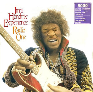 jimi hendrix vinyls album / radio one : castle communications