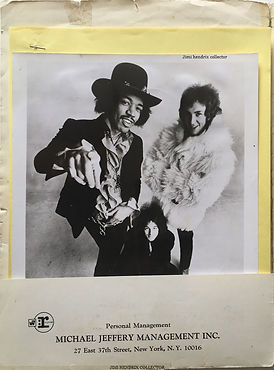 jimi hendrix collecor memorabilia 1969/kit press 1969 jimi hendrix experience