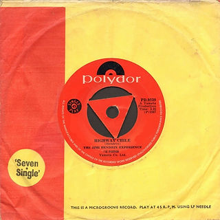 jimi hendrix collector singles