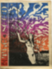 jimi hendrix newspaper collector/the seed vol 2 N°2 february 1968