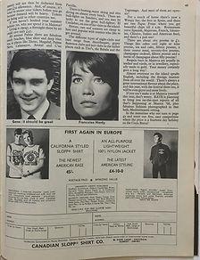 jimi hendrix magazine/rave may 1968:spain musica'68