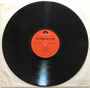 jimi hendrix album/LPs/vinyl/isle of wight side1 polydor germany