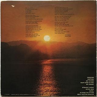 cry of love jimi hendrix vinyl album lp/collector 1971 japan