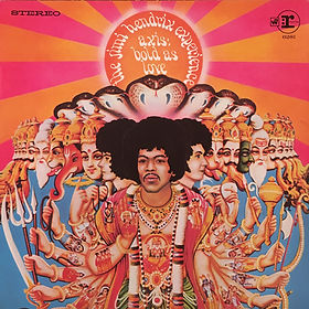 jimi hendrix rotily patrick vinyl collector/axis bold as love  1981