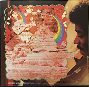 jimi hendrix album vinyls/rainbow bridge 1971