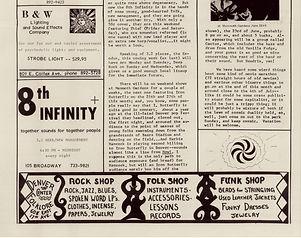 jimi hendrix newspapers 1970 / chinook  june 11, 1970