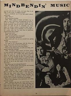 jim hendrix magazines 1969/rock spectacular 1969