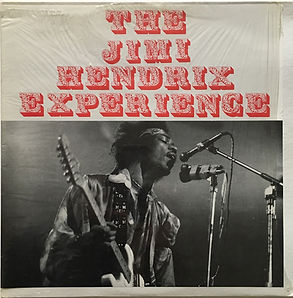 jimi hendrix bootlegs vinyls/recorded live paris