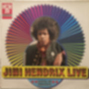 jimi hendrix vinyls lp 1970/jimi hendrix live : hörzu