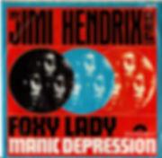 jimi hendrix rotily vinyl singles foxy lady