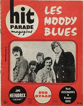 jimi hendrix magazine/hit parade magazine april 68