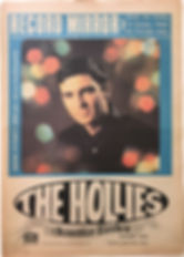 jimi hendrix newspaper/record mirror april 13 1968