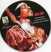 jimi hendrix bootlegs cd / high voltage at atlanta pop & electric lady studios disc 2