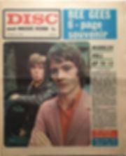 jim hendrix newspaper 1968/disc & music echo october 26/1968