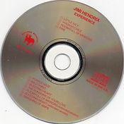 jimi hendrix cd album/ experience /  1986