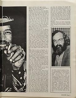 jimi hendrix magazine/jazz & pop july 1968:jimi hendrix
