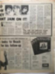 jimi hendrix newspaper 1968/ melody maker december 14 1968
