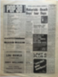 jimi hendrix newspaper/melody maker may 18 1968 hendrix/herd