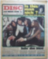 jimi hendrix newspaper 1969/disc & music echo may 10 1969