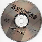 jimi hendrix cd bootlegs/1968 AD