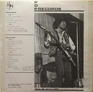 jimi hendrix bootlegs vinyls 1970 /   broadcast / maui hawii pod records