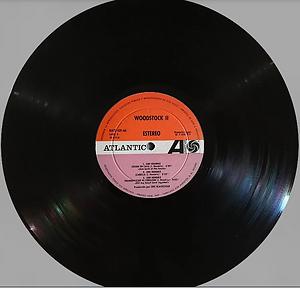 jimi hendrix vinyl lp album/woodstock two /  spanish 1971