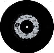 jimi hendrix collector singles/vinyls/gloria england 1978( in special bag)