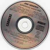 jimi hendrix  cd album / radio one  carrere