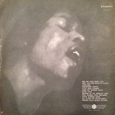 jimi hendrix rotily patrick vinyls collector /promo electric ladyland  brazil 1969