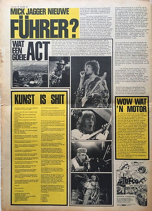 jimi hendrix newspaper 1970 / aloha : september 18, 1970