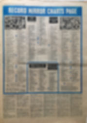 jimi hendrix newspaper 1968/Record mirror 23/11/68 top 50