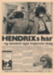 jimi hendrix newspaper 1968/nyt borge march 8 1968