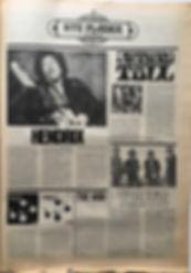 jii hendrix newspaper 1968/superlove november 1968