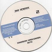 jimi hendrix bootlegs cds 1970 / jimi hendrix live madison wisconsin 1970 2cd / disc 2