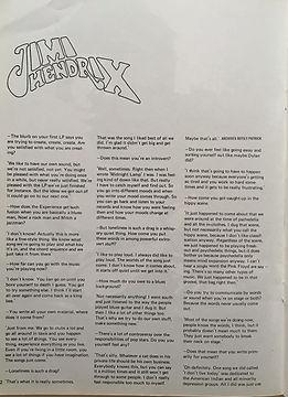 jimi hendrix magazine/unit february 1968