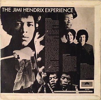 jimi hendrix rotily vinyls lp / are you experienced 1967 new zealand
