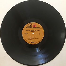 jimi hendrix vinyls 1973 /sound track recording from the film/japan side 4