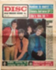 jimi hendrix newspaper/disc music echo june 1 1968