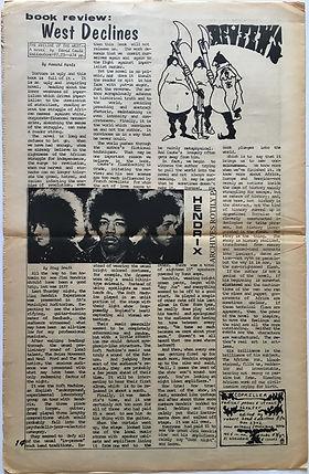 the rag houston/austin february 19 1968 jimi hendrix newspaper collector