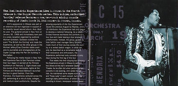 jimi hendrix bootlegs cd collector/live in ottawa dagger records 2004