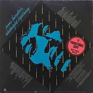 jimi hendrix vinyl album midnight lightning  / 1975 promotional copy