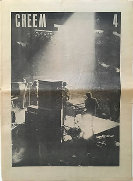 jimi hendrix newspapers 1969/ creem N°4 april 1969