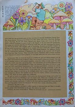 jimi hendrix magazines 1969/playboy december 1969: timothy leary episode & postscript