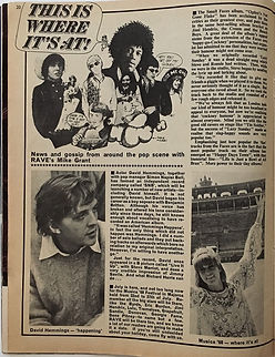 jimi hendrix magazine/rave july 1968