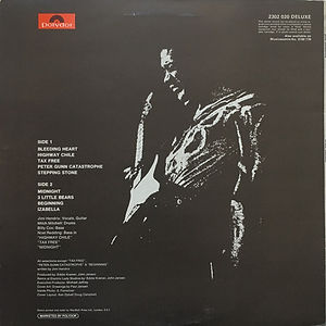 jimi hendrix vinyl album/ war heroes polydor england 1972