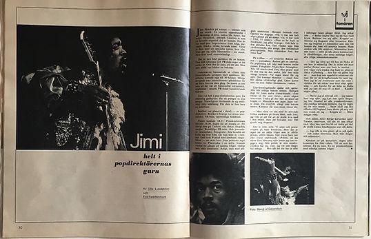 jimi hendrix magazines 1969/ v i  february 15 1969: helt i popdirektörernas garn