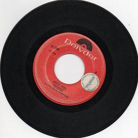 jimi hendrix collector singles vinyls 45r/ gypsy eyes polydor mexico 1968
