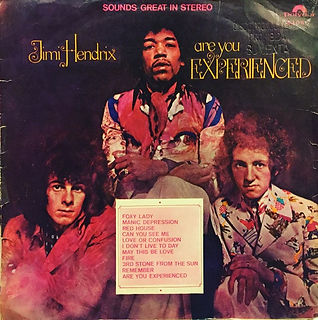 jimi hendrix vinyl album/are you experienced chile 1970