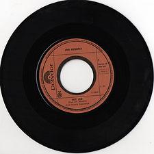 jimi hendrix singles reissue /hey joe